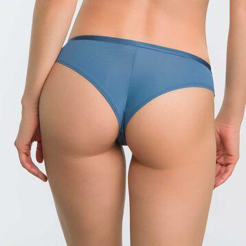 Brazilian Tanga in blue lace - Dim Daily Glam Trendy Sexy, , DIM