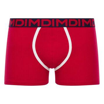 Boxer homme rouge ceinture noire - Dim Mix & Fancy, , DIM