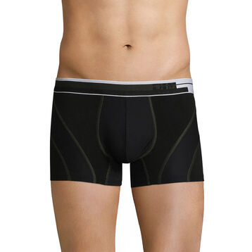 Breathable trunks in black cotton - Dim Sport, , DIM