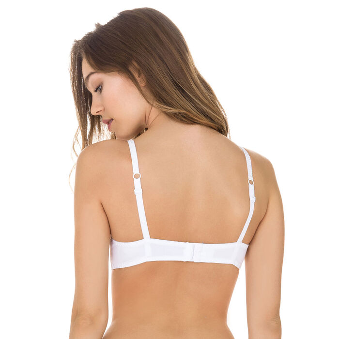 Sublim Dentelle underwired bra in white, , DIM