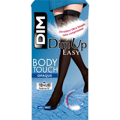 Bas up noirs opaques DIM UP EASY Body touch 40D-DIM