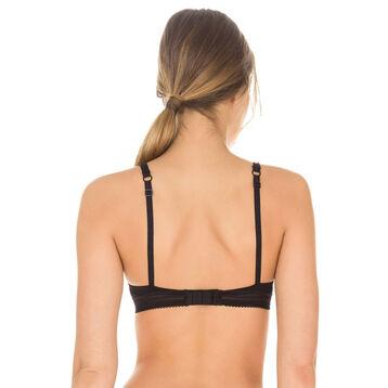 Black Invisi Fit underwired bra, , DIM