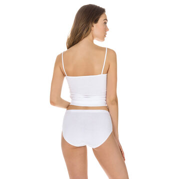 Lot de 2 culottes maxi blanches Femme Coton Plus Bio-DIM