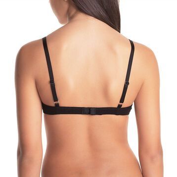 DIM Girl black triangle bra - DIM