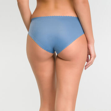 Culotte femme invisible bleu antique - Dim Body Touch, , DIM