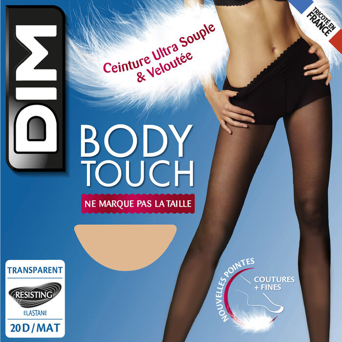Sunkissed Body Touch Voile 20 sheer tights, , DIM