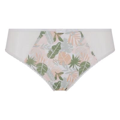 Culotte imprimé tropical vert Generous Coton Bio Dim, , DIM