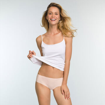 2 Pack Body Touch Microfibre Hipster Briefs Precious Purple and Nude Pink, , DIM