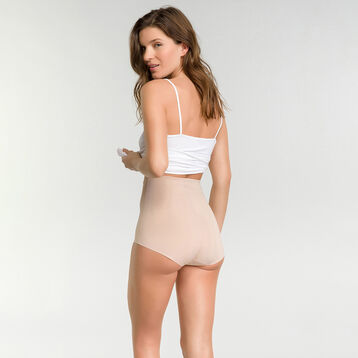 High-waisted girdle in skin tone - Diam's Control Plus, , DIM