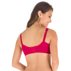 Generous red underwired bra - DIM