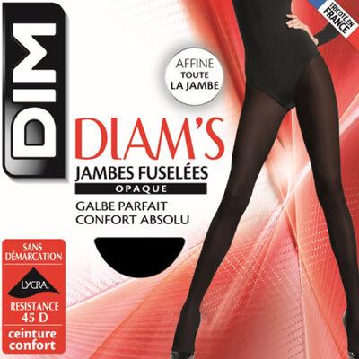 Panti negro Diam's piernas esbeltas 45D, , DIM
