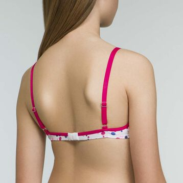 DIM Girl Triangle Bra with Removable Padding Neon, , DIM