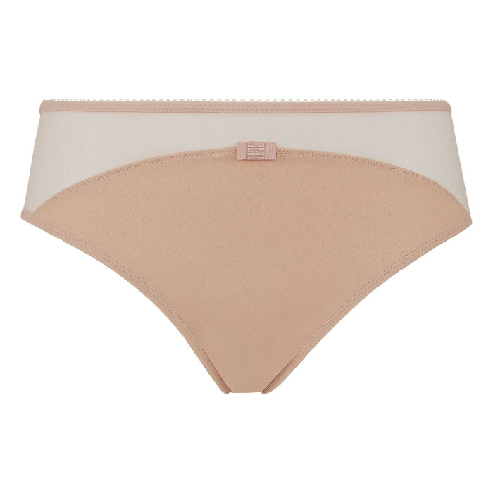 Generous Limited Edition Dim Nude Glitter Microfibre Panty, , DIM