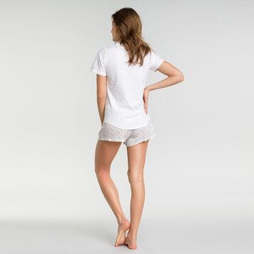 Pyjama shorts with white spots - Fashion, , DIM