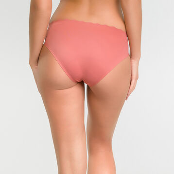 Microfibre knickers in cedar pink - Dim Beauty Lift, , DIM
