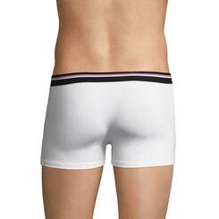 Boxer blanc ceinture noire DIM Colors-DIM