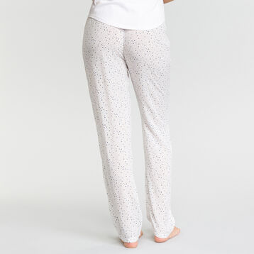 Pyjama trousers with white spots - Fashion, , DIM