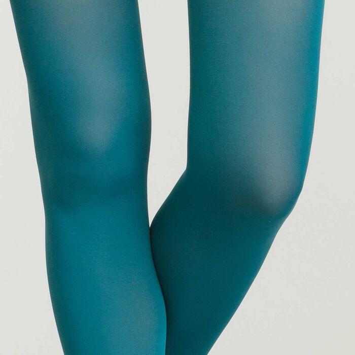 Collant pour femme Vert Canard Opaque Velouté Dim Style, , DIM
