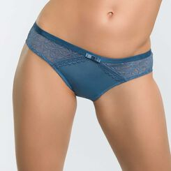 Women's blue lace knickers - Dim Daily Glam Trendy Sexy, , DIM