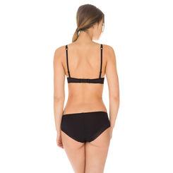 Black Invisi Fit push-up bra, , DIM
