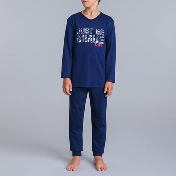 Pyjama 2 pièces bleu matelot DIM Camouflage-DIM
