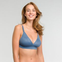 Triangle antique blue wireless bra - Dim Body Touch, , DIM