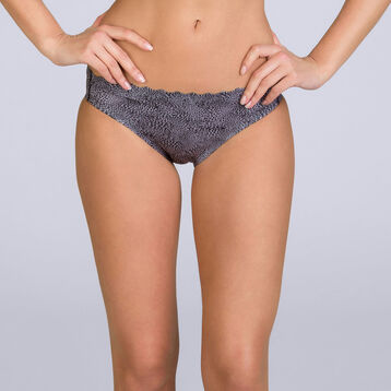 Slip imprimé léopard Beauty Lift Femme invisibilité totale-DIM