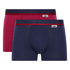 2-pack red and cobalt blue - Dim Mix and Dots, , DIM