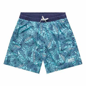 Tropical swim shorts for Boy  - Bain Tropical, , DIM