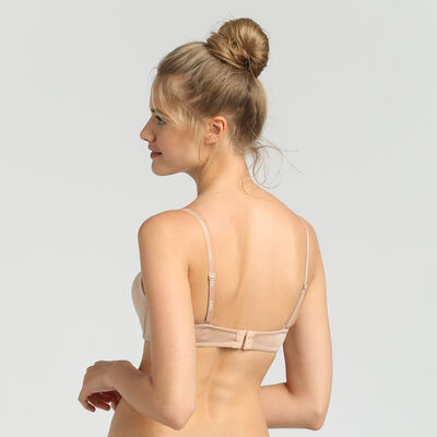 Dim InvisiFree nude wireless strapless bra, , DIM