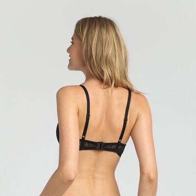 Black push-up bra Coco tropical by Dim, , DIM