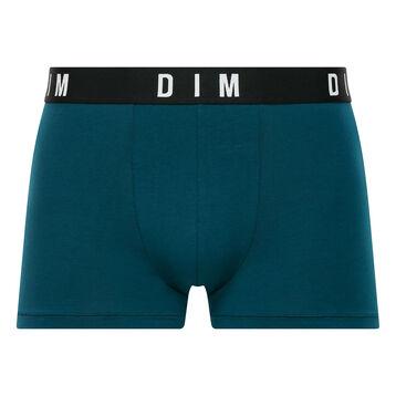 Boxer Bleu Paon en coton modal homme - DIM Originals, , DIM