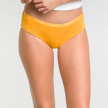 3 pack yellow, grey and white shorties - Les Pockets Ecodim , , DIM