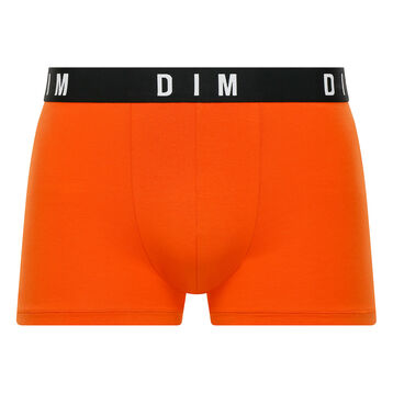 Orange trunks in cotton and modal - DIM Originals, , DIM