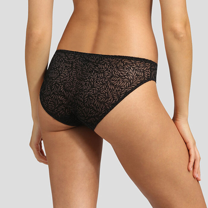 Velvet black briefs Dim Sublim, , DIM