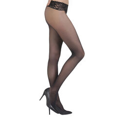 Black DIM Signature Sensation Nue 31 bare sensation tights, , DIM