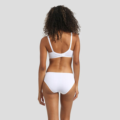 White english embroidery briefs Dim Generous Limited Edition, , DIM