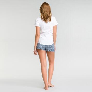Pyjama shorts with floral print - Fashion, , DIM