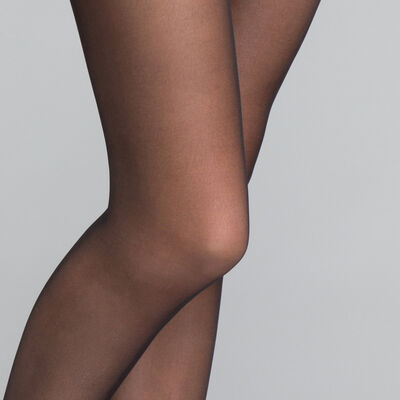 3-pack of sheer black My Easy tights- DIM My Easy, , DIM