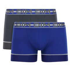 2 Pack Azure and Granite Grey trunks  3D Stay & Fit, , DIM