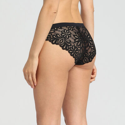 Lace black briefs Daily Glam, , DIM