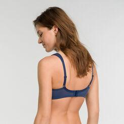 Minimizer blue bra with white dots - Dim Generous, , DIM