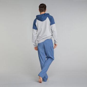 Pantalon pyjama bleu indigo - Essential, , DIM