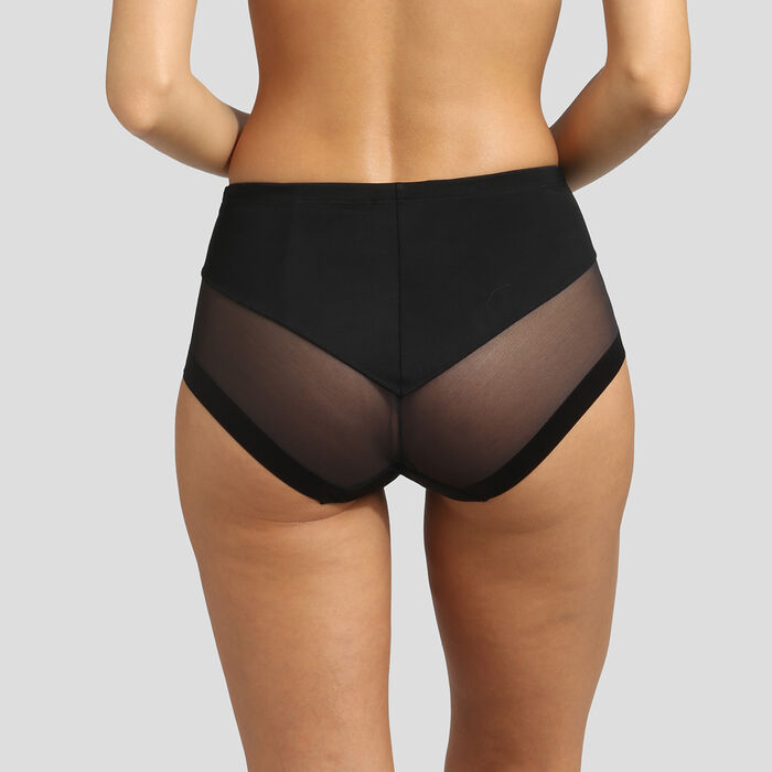 Black invisible high-waisted brief Dim Generous Limited Edition, , DIM