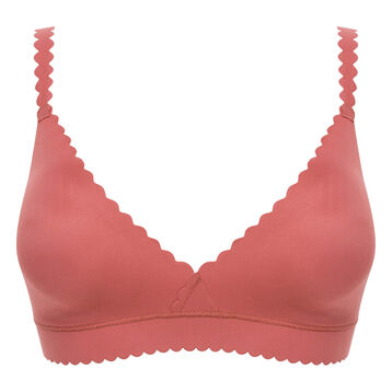 Wireless triangle bra in cedar pink - Dim Body Touch, , DIM