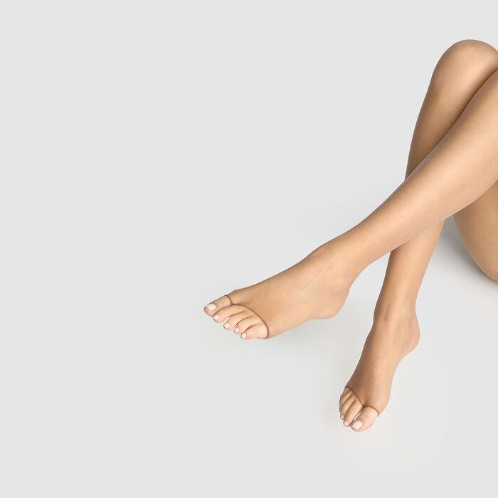 Teint de Soleil 17 toeless bronzer tights in tan, , DIM