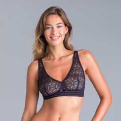 Daily Glam black lace bralette - DIM