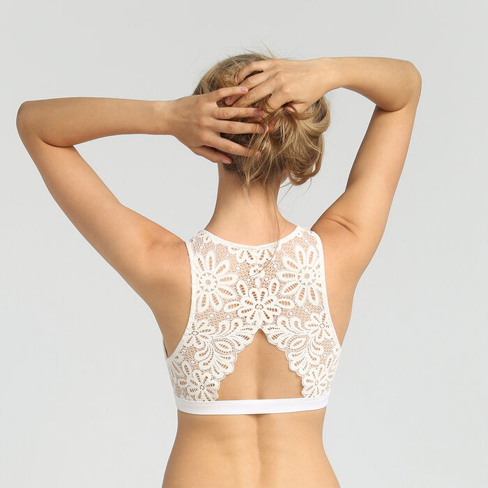Mother-of-pearl lace bra Daily Glam by Dim, , DIM