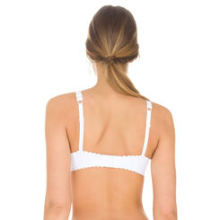 White Body Touch bra, , DIM