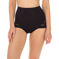 Diam's Control Modern high rise knickers in black, , DIM